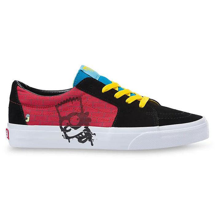 Juniors' [3.5-7] The Simpsons Sk8-Low Shoe