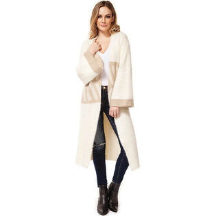 Women's Long Fuzzy Cardigan