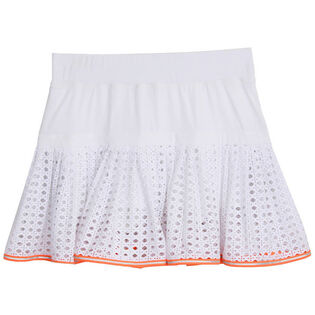 Women's Pointelle Mesh Lace Skort