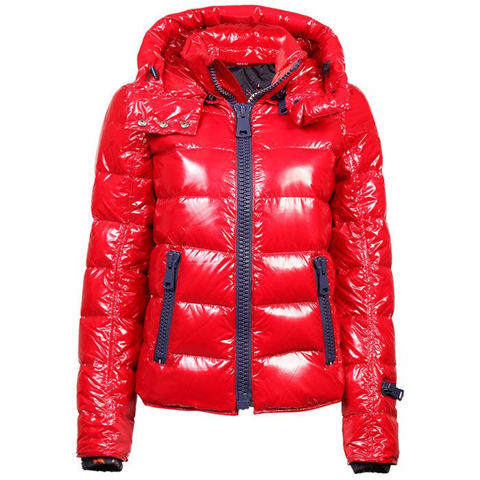 Manteau matelassé lustré pour femmes