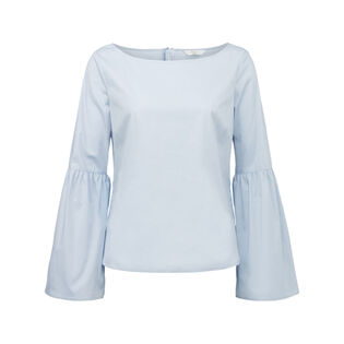 Women's Woven Bell Sleeve Top
