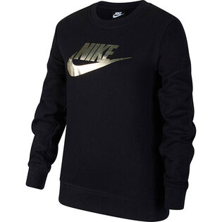 Junior Girls' [7-16] Sportswear French Terry Crew Sweatshirt