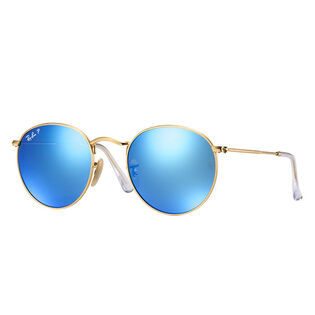 Round Flash Lens Sunglasses