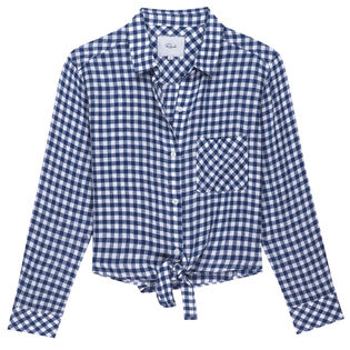 Women's Val Gingham Top