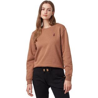 Women's Golden Spruce Crew Sweatshirt