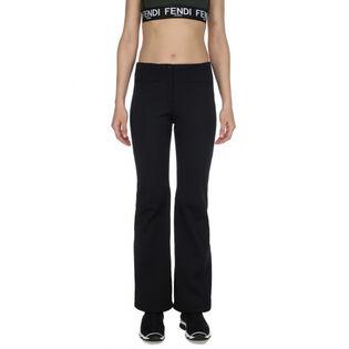 Pantalon technique de couleur unie pour femmes