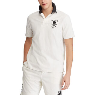 Men's Classic Fit Cotton Rugby Top