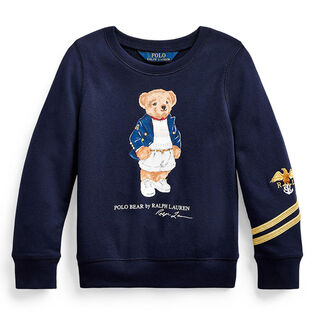 Girls' [5-6X] Blazer Bear Terry Pullover Sweatshirt