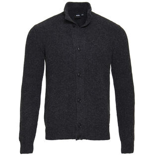 Men's Knit Buttoned Sweater