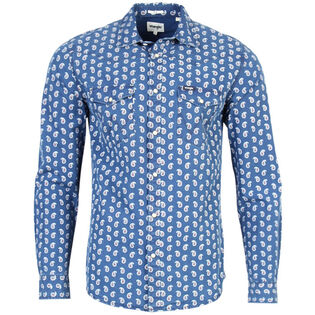 Men's Paisley Print Western Snap Shirt