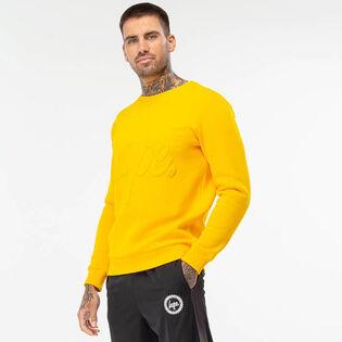 Men's Embossed Crew Sweatshirt