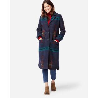 Women's Saddle Mountain Blanket Coat