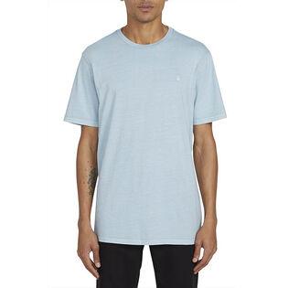 Men's Solid Stone Emblem T-Shirt