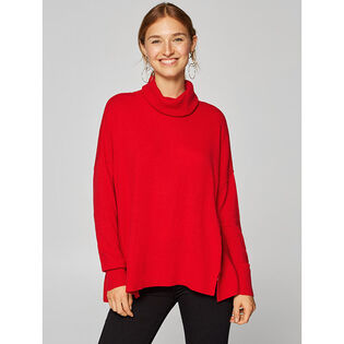 Women's Cowl Tunic Sweater