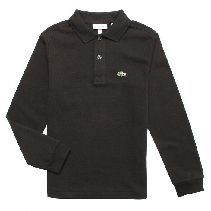 Boy's [2-6] Long Sleeve Classic Pique Polo