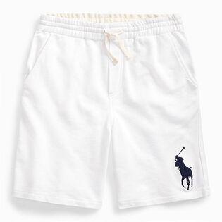 Short en tissu bouclette Big Pony pour garçons juniors [8-20]