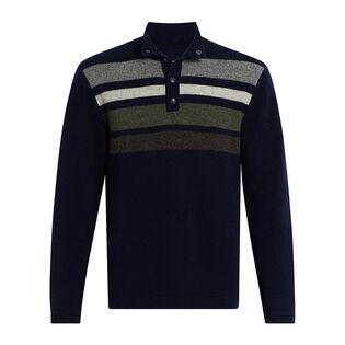 Men's Half Snap II Blanket Sweater