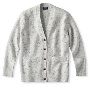 Cardigan en tricot donegal pour femmes