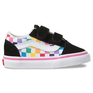 Babies' [4-10] Checkerboard Old Skool V Shoe