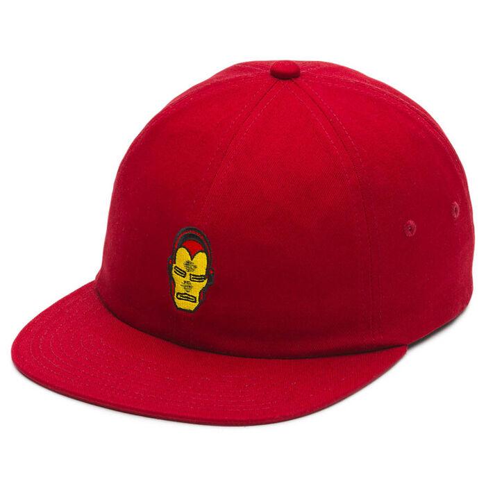 Men's Iron Man Snapback Cap