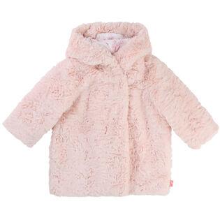 Girls' [6M-3Y] Faux Fur Jacket