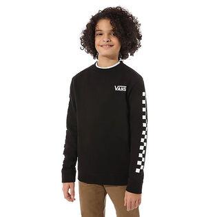 Junior Boys' [8-16] Exposition Check Crew Sweatshirt