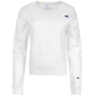 Women's Reverse Weave® Chenille Logo Sweatshirt