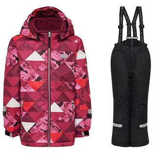 Girls' [5-7] Josefine 721 + Platon 709 Two-Piece Snowsuit