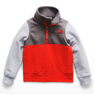 Boys' [3-6] Quarter-Zip Logowear Sweater