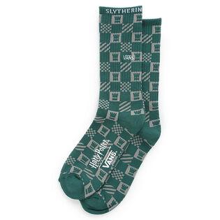 Men's Slytherin Crew Sock (Large)