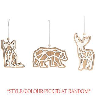 Wood Animal Ornament