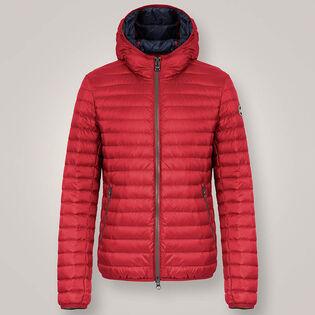 Men's Light Down Hooded Jacket