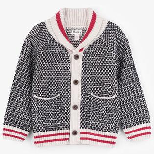 Boys' [2-6] Shawl Collar Cardigan