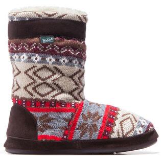 Pantoufles-bottes Whitecap pour femmes