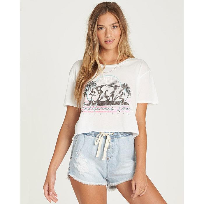 Women's Retro Cali Bear T-Shirt