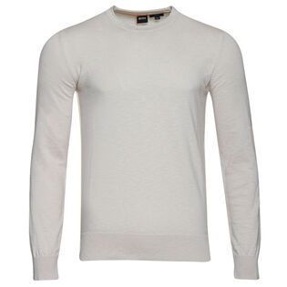 Men's Melange Crew Sweater