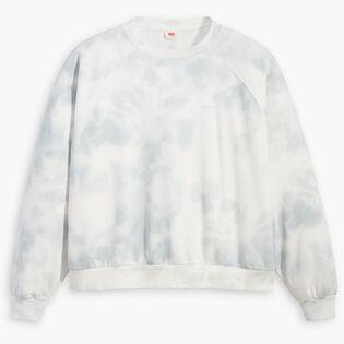Women's Vintage Raglan Crew Sweatshirt (Plus Size)