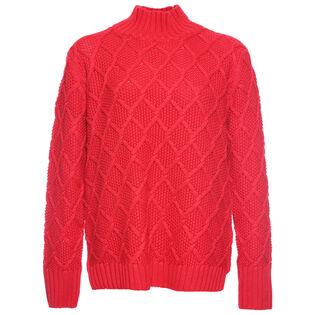 Women's Honeycomb Turtleneck Sweater