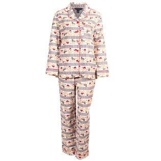 Women's Winter Fair Isle Two-Piece Pajama Set