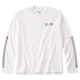 Men's Reflective Logo Long Sleeve T-Shirt