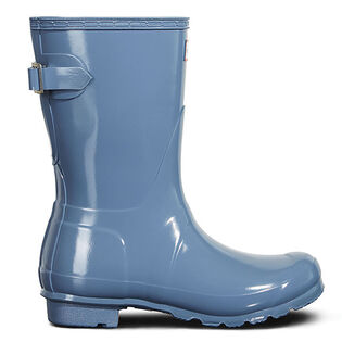 Women's Original Short Back Adjustable Gloss Rain Boot