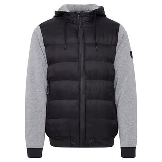 Men's Hybrid Hooded Jacket
