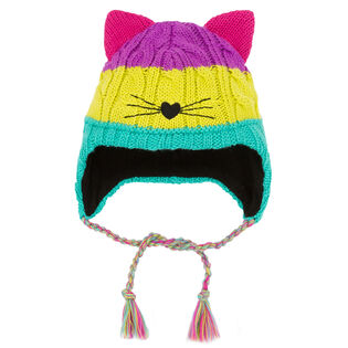 Girls' [2-6] Cat Face Hat