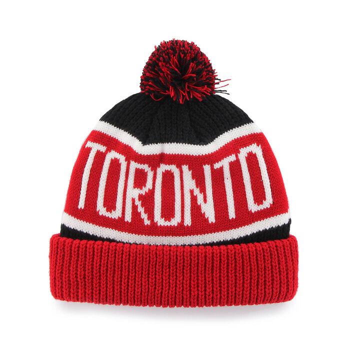 sale retailer c8d14 b4cf0 Men\'s Toronto Raptors City Cuffed Knit Toque