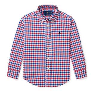 Boys' [2-4] Performance Poplin Shirt