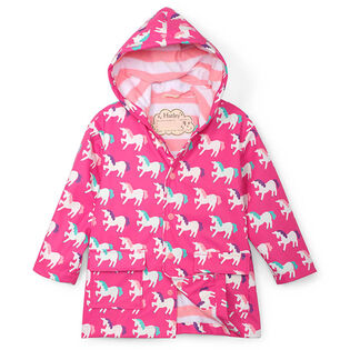 Girls' [2-10] Unicorns Colour Changing Rain Coat