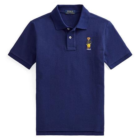 Ralph Lauren Childrenswear - Polo en maille de coton Polo Bear pour garçons juniors [8-20]