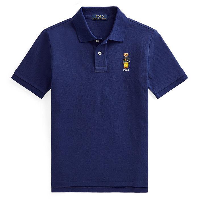 Polo en maille de coton Polo Bear pour garçons juniors [8-20]