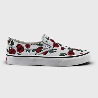 Women's Red Roses Classic Slip-On Shoe