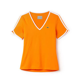 Women's V-Neck Tech Tennis T-Shirt